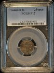 Sommer Is 2Pence F12 PCGS