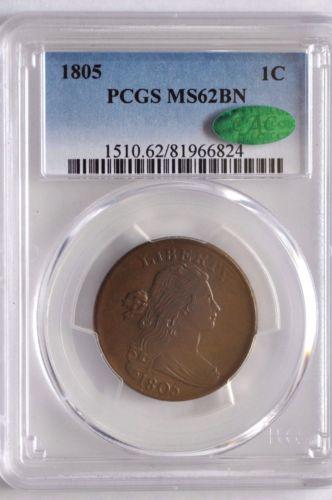 1805 1C MS62BN PCGS