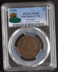 1794-1C-LIBERTY-CAP-S-66-R5-Breen-Die-state-IV-PCGS-graded-VF-30CAC-Approved-291686657619